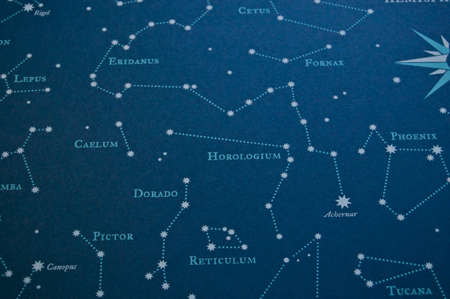 Southern Hemisphere Star Chart  Hello Polly